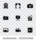 vector digital photography sign ... | Shutterstock .eps vector #1313131466
