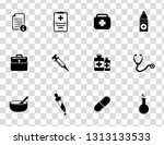 vector medical   health care... | Shutterstock .eps vector #1313133533