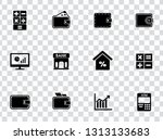 financial icons set | Shutterstock .eps vector #1313133683