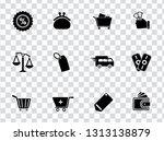 vector shopping   commerce... | Shutterstock .eps vector #1313138879