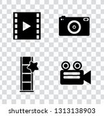 vector photography camera icons ... | Shutterstock .eps vector #1313138903