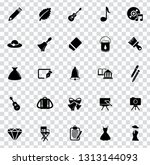 vector art icons. graphic... | Shutterstock .eps vector #1313144093