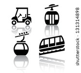 set of transport icons  ... | Shutterstock .eps vector #131314898