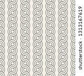 vector seamless interlacing... | Shutterstock .eps vector #1313167619