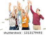 finance  wealth and people... | Shutterstock . vector #1313179493