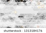urban geometric camouflage... | Shutterstock .eps vector #1313184176