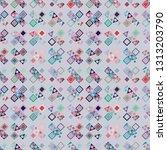 seamless vector pattern.... | Shutterstock .eps vector #1313203790