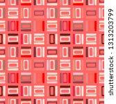 seamless vector pattern.... | Shutterstock .eps vector #1313203799