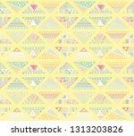 seamless vector pattern.... | Shutterstock .eps vector #1313203826