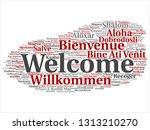 vector concept or conceptual... | Shutterstock .eps vector #1313210270