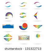 set of icons | Shutterstock .eps vector #131322713
