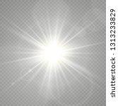 light flare special effect.... | Shutterstock .eps vector #1313233829