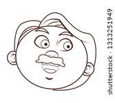 grandfather person head   Shutterstock .eps vector #1313251949