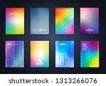 cool background minimal... | Shutterstock .eps vector #1313266076