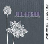 Vector  Modern Abstract Flower...