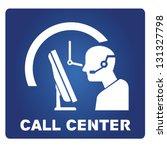 call center   Shutterstock .eps vector #131327798