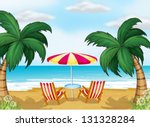 illustration of the view of the ... | Shutterstock .eps vector #131328284