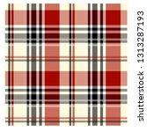 seamless tartan plaid. scottish ... | Shutterstock .eps vector #1313287193