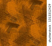 various pencil hatches.... | Shutterstock .eps vector #1313312429