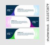 banner background   modern web... | Shutterstock .eps vector #1313372879