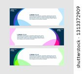 banner background   modern web... | Shutterstock .eps vector #1313372909
