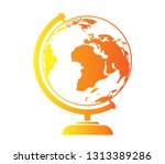 globe with maps   Shutterstock .eps vector #1313389286