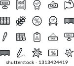 bold stroke vector icon set  ... | Shutterstock .eps vector #1313424419