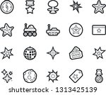 bold stroke vector icon set  ... | Shutterstock .eps vector #1313425139