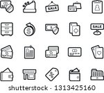 bold stroke vector icon set  ... | Shutterstock .eps vector #1313425160