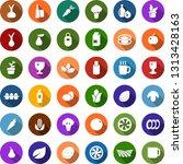 color back flat icon set  ...   Shutterstock .eps vector #1313428163