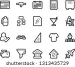 bold stroke vector icon set   t ...