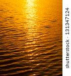 Sunset Light Water Texture