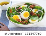 Bacon With Boiled Egg And...
