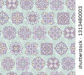 abstract seamless pattern with... | Shutterstock .eps vector #1313480003