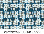blue color. abstract pattern... | Shutterstock .eps vector #1313507720
