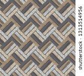 ethnic boho seamless pattern.... | Shutterstock .eps vector #1313514956
