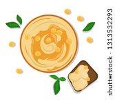 national food of israel. flat... | Shutterstock .eps vector #1313532293