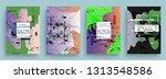 artistic covers design.... | Shutterstock .eps vector #1313548586