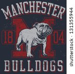 athlete,athletic,bulldog,cartoon,design,illustration,mascot,muscular,pen and ink,proud,retro,school spirit,scowling,strong,t-shirt design