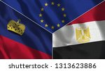 lichtenstein and egypt 3d...   Shutterstock . vector #1313623886