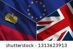 lichtenstein and united kingdom ...   Shutterstock . vector #1313623913