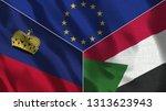 lichtenstein and sudan 3d...   Shutterstock . vector #1313623943
