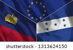 lichtenstein and honduras 3d...   Shutterstock . vector #1313624150