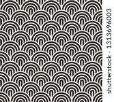 vector seamless geometric... | Shutterstock .eps vector #1313696003