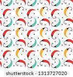 pepper vector seamless pattern... | Shutterstock .eps vector #1313727020