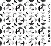 geometric pattern. elegant... | Shutterstock .eps vector #1313737040