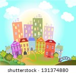 toy town raster copy | Shutterstock . vector #131374880