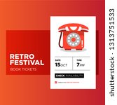 retro fest booking app...
