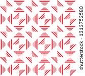 geometric pattern. elegant... | Shutterstock .eps vector #1313752580