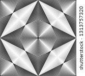 geometric seamless pattern ... | Shutterstock .eps vector #1313757320
